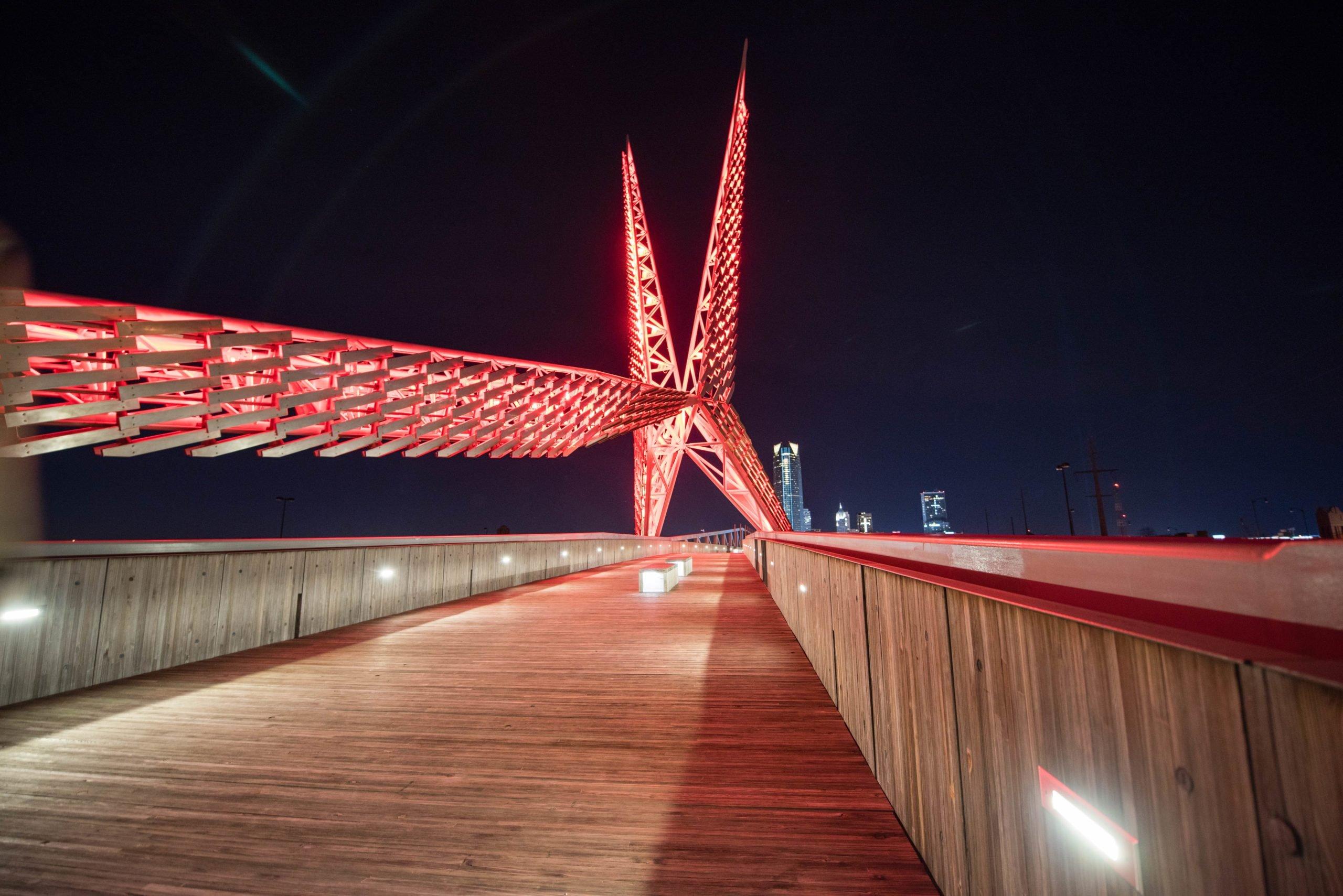 sky dance bridge