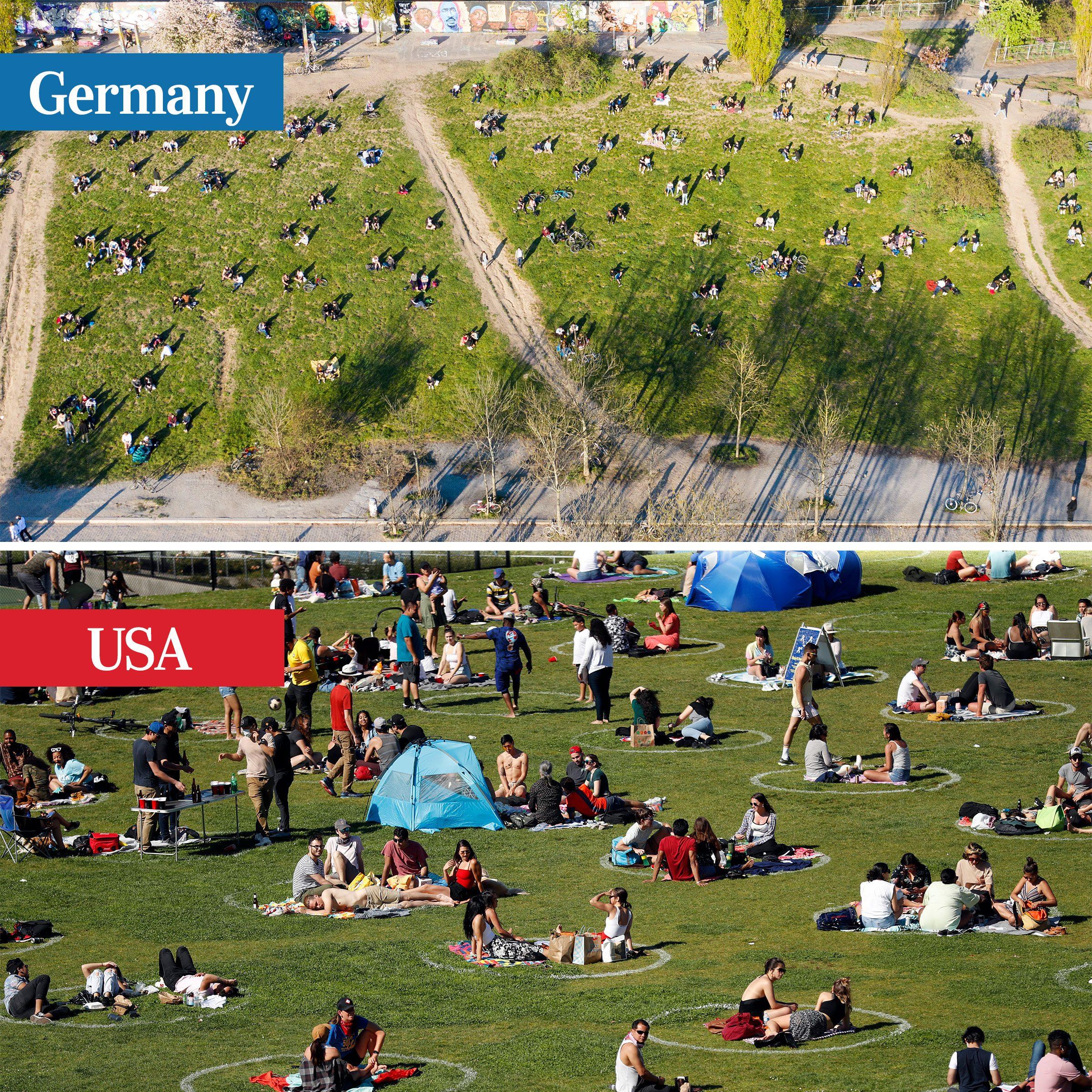 germany vs usa - parks