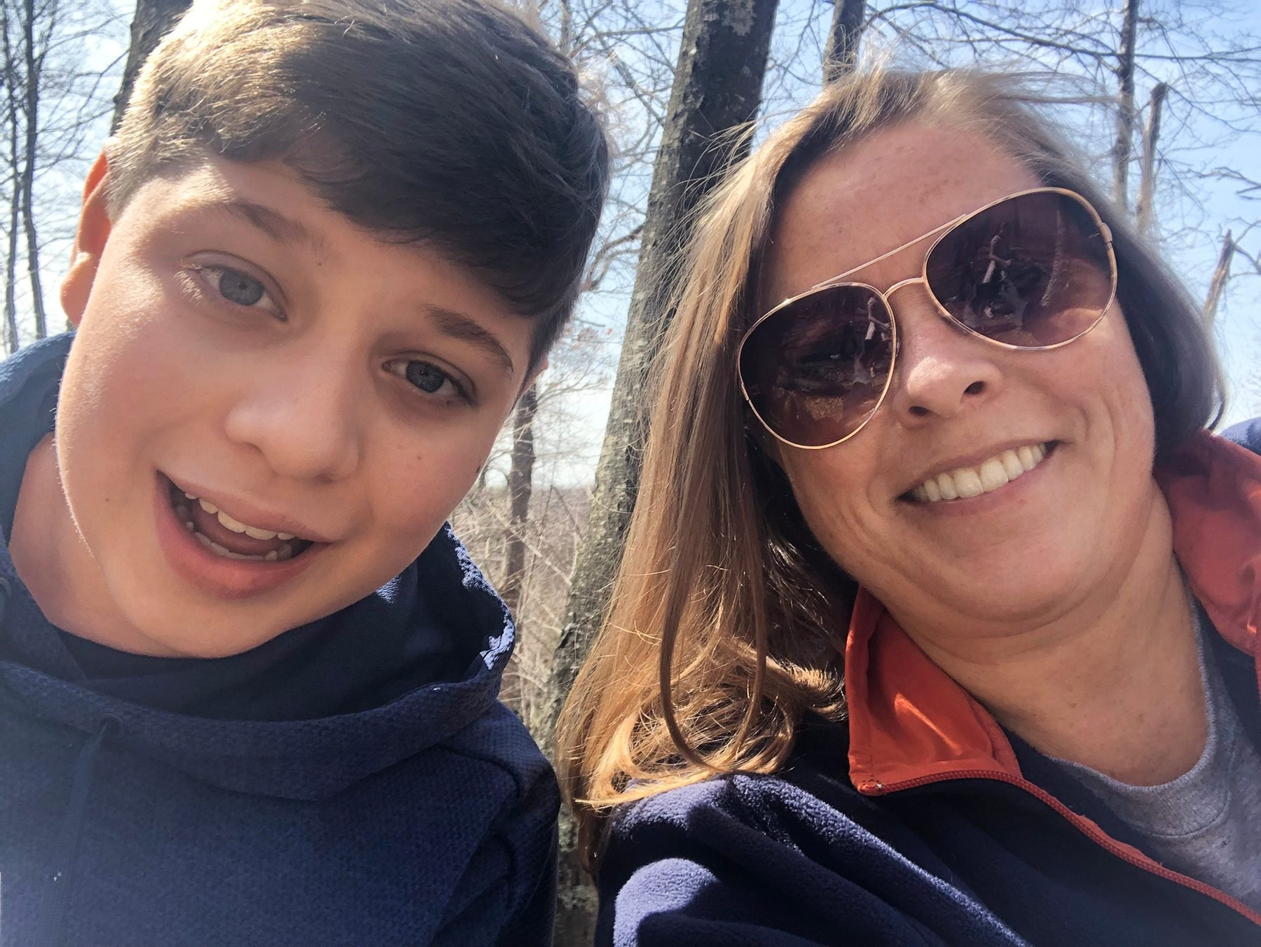 Gamer Reilly Howard and his mother, Sheila Reilly
