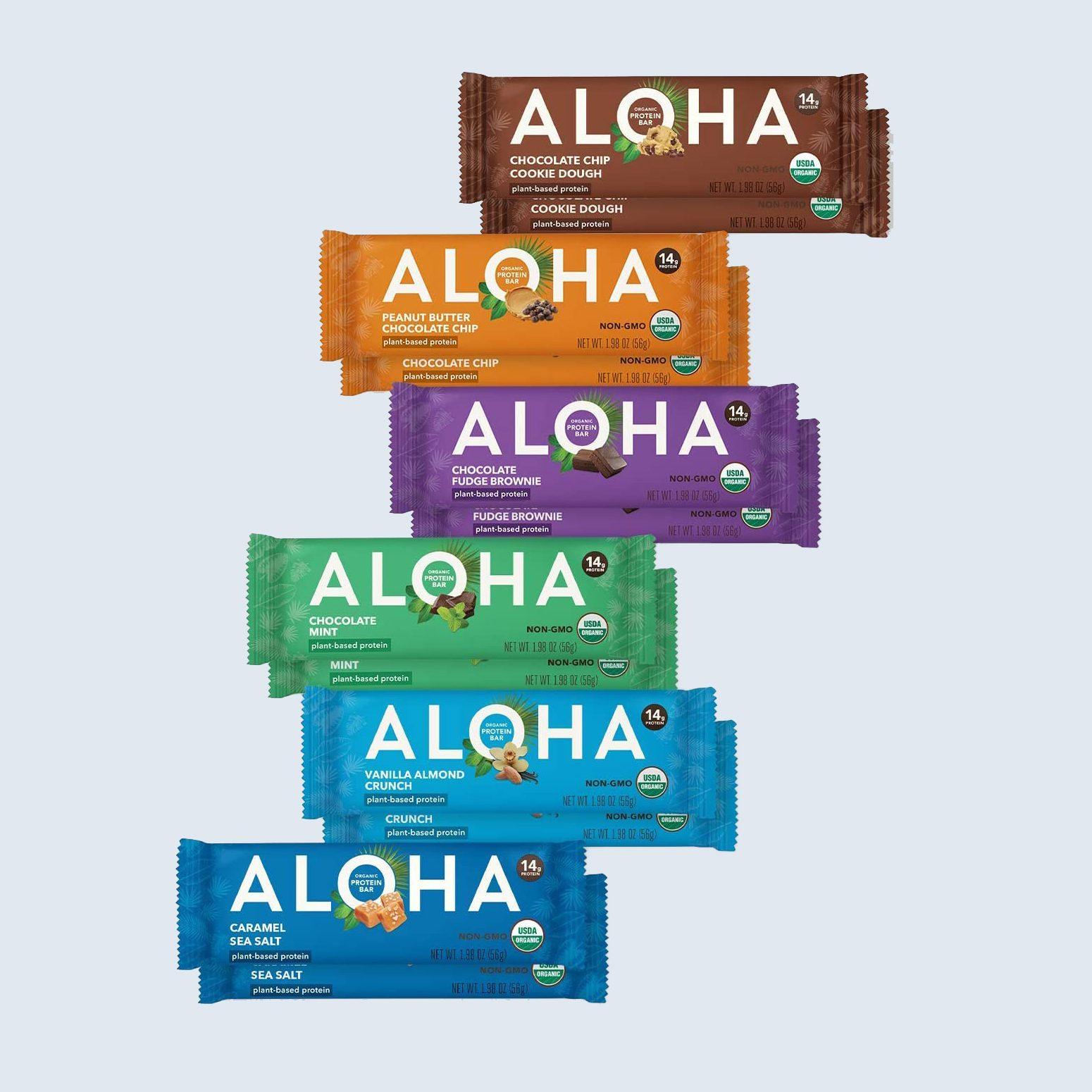 Aloha Plant-Based Protein Bars