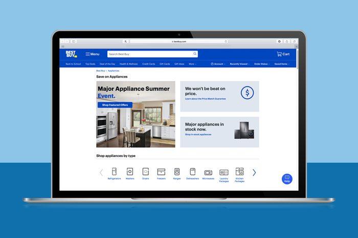 Best Buy Major Appliance Labor Day Sale