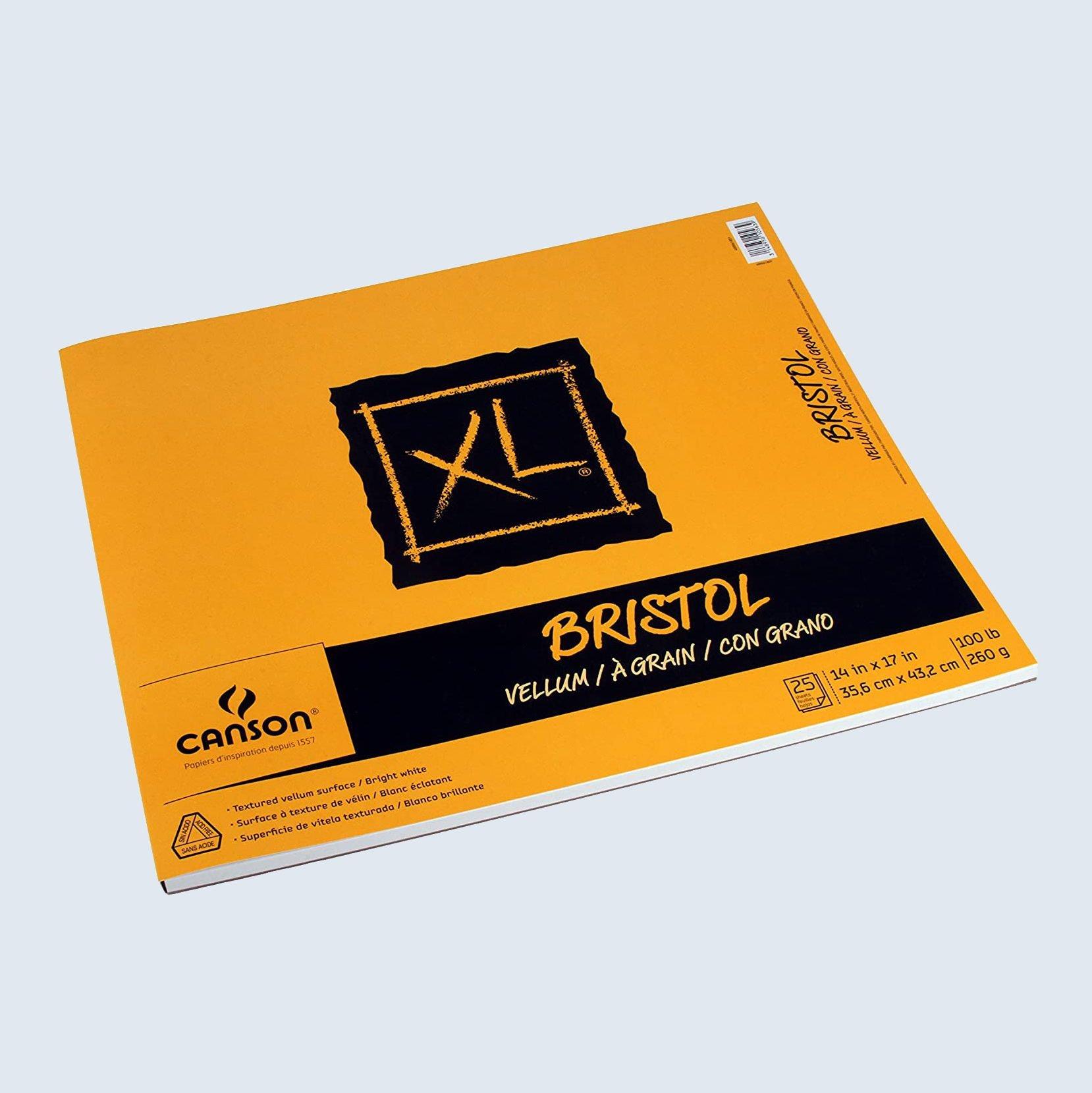 Canson XL Bristol paper pad