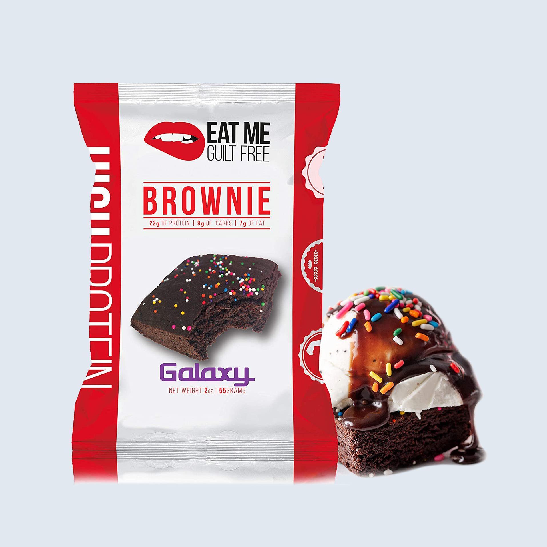 Galaxy Eat Me Guilt-Free Brownies