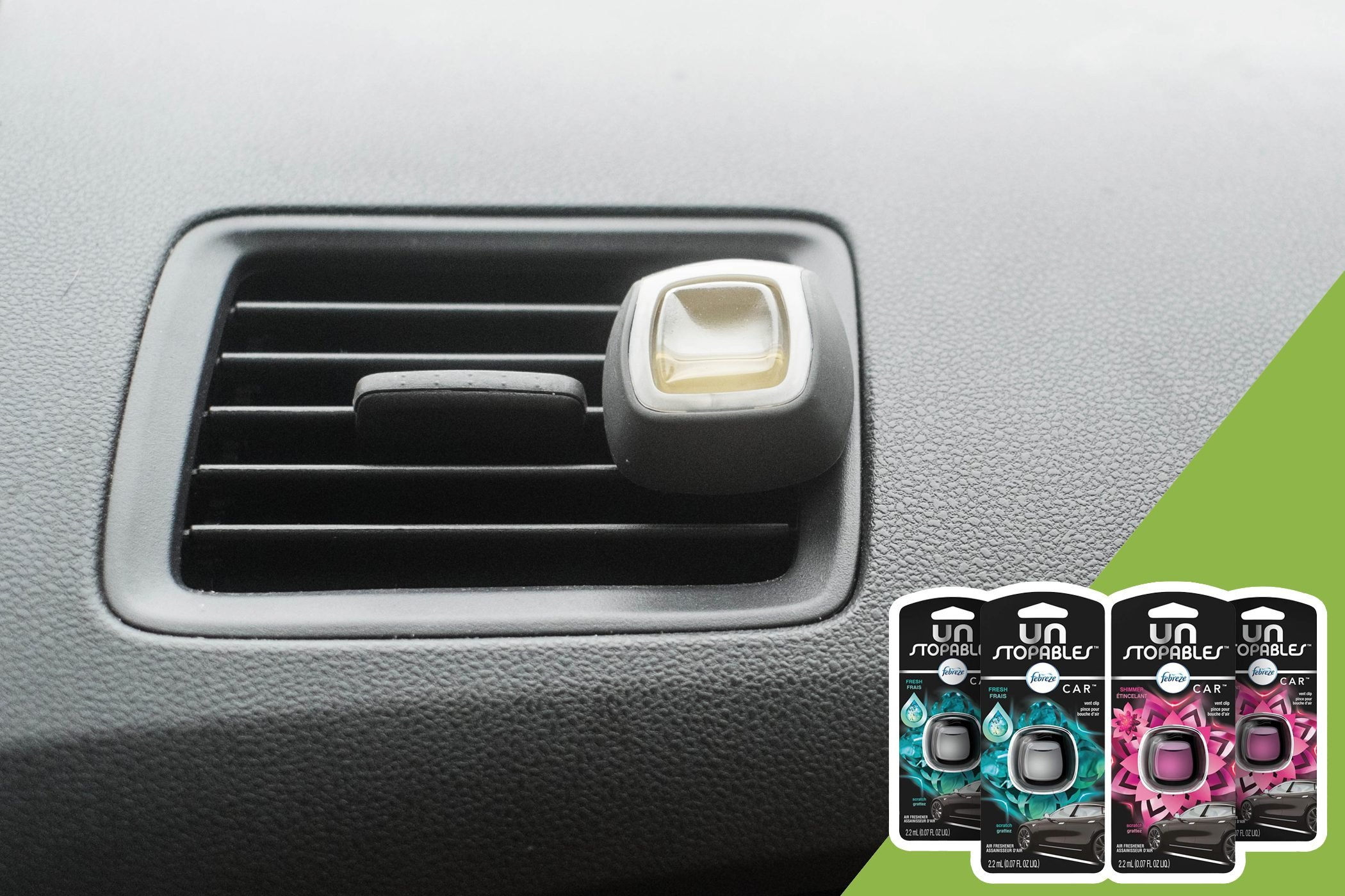 car air freshener with inset of air fresheners to buy