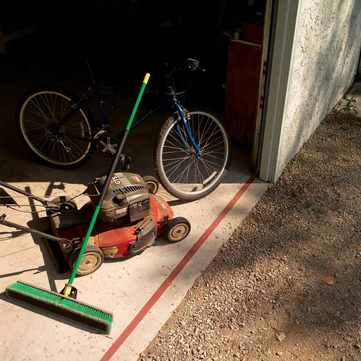 garage foul line
