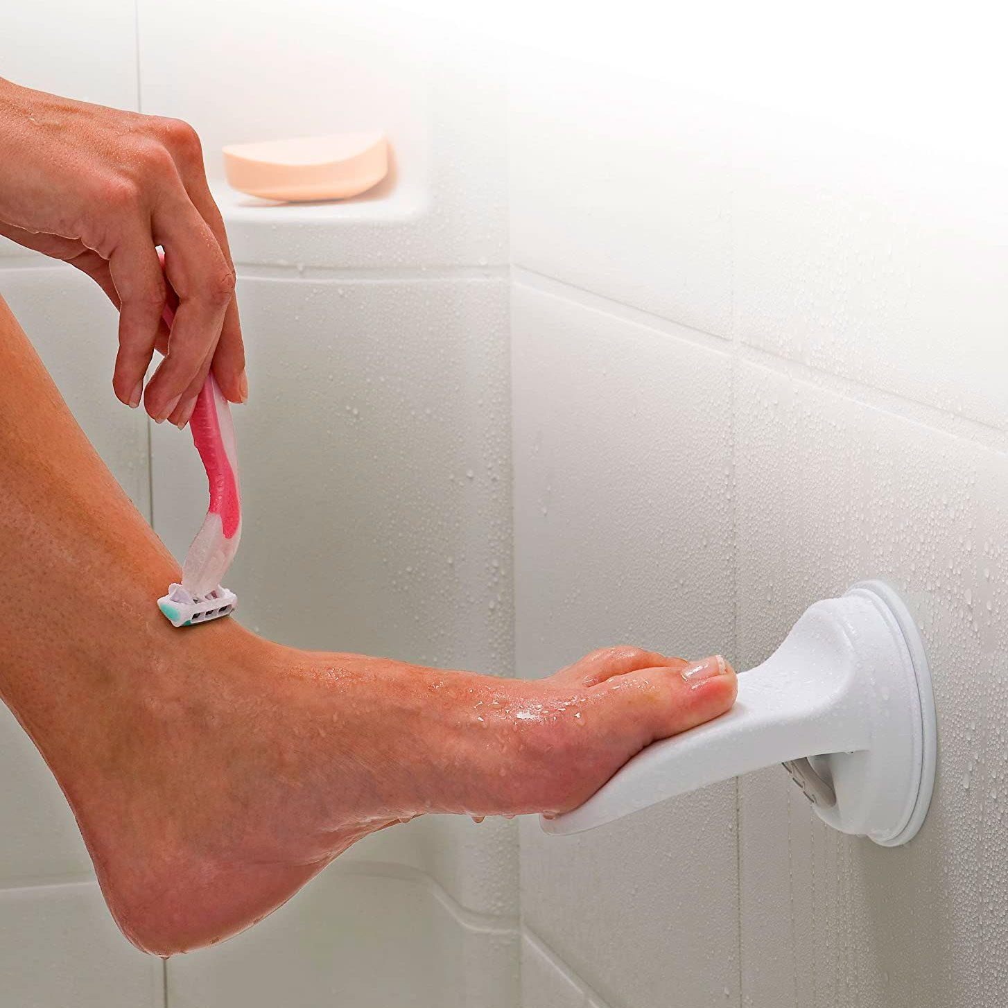 shower foot rest