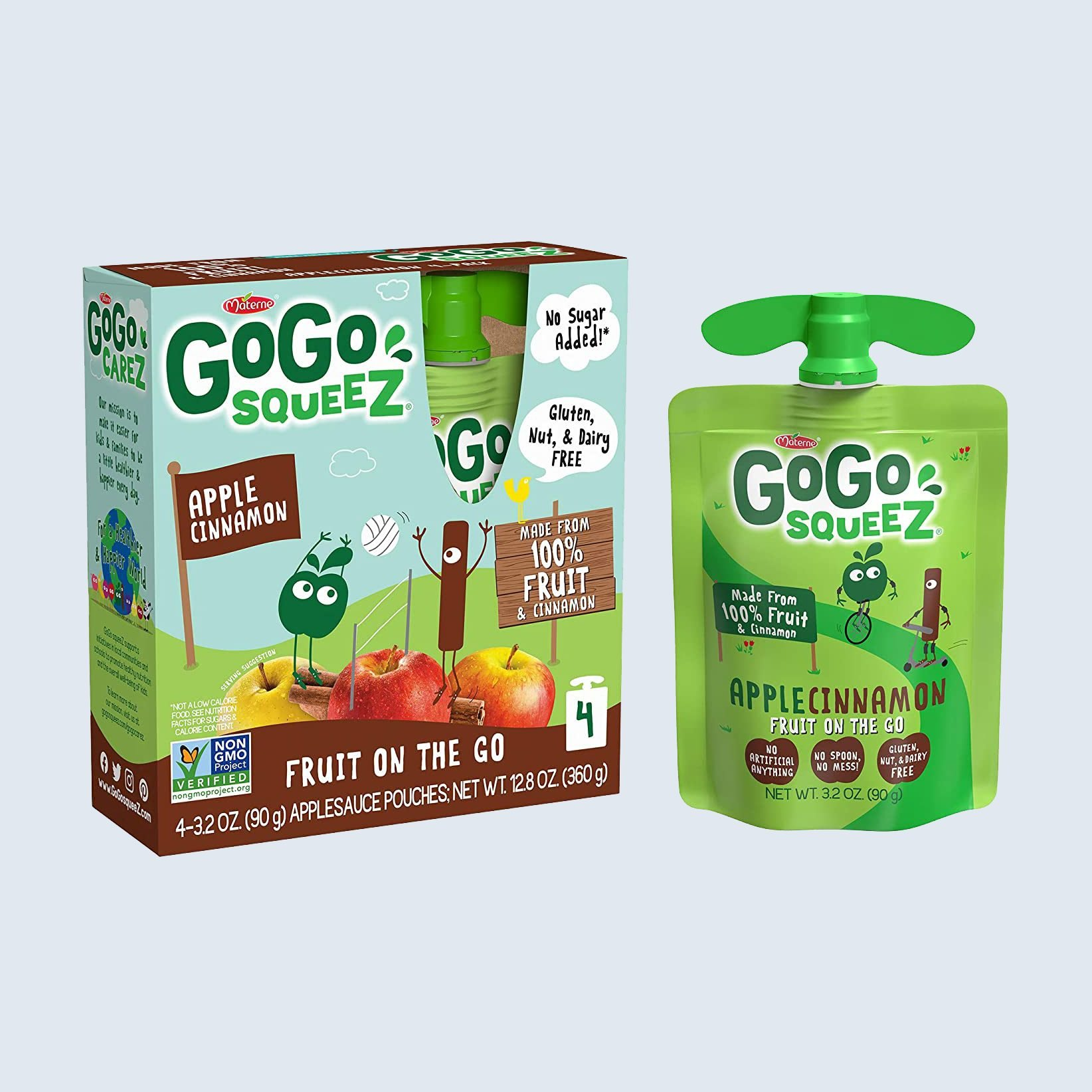 GoGo Squeeze Fruit on the Go