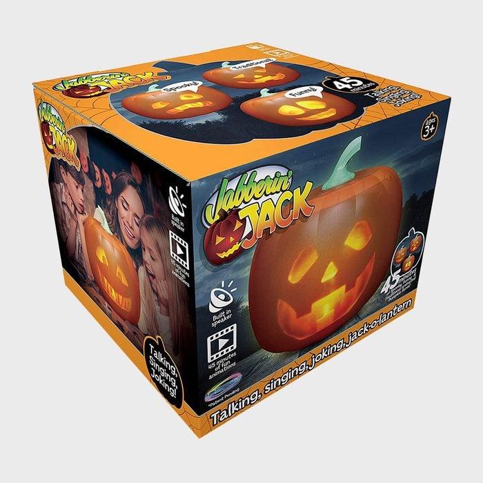 Jabbering Jack O Lantern Halloween Decoration