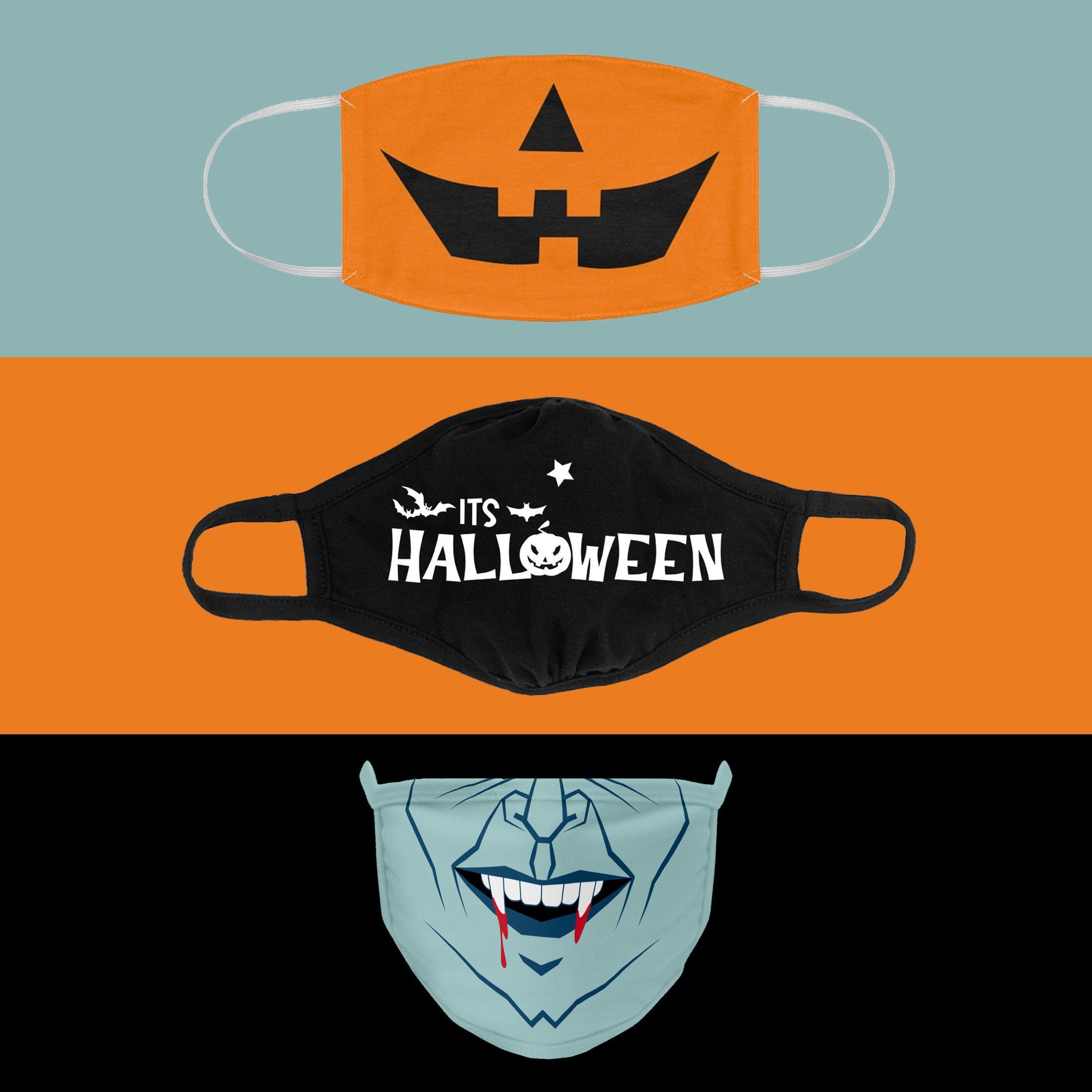 face masks halloween