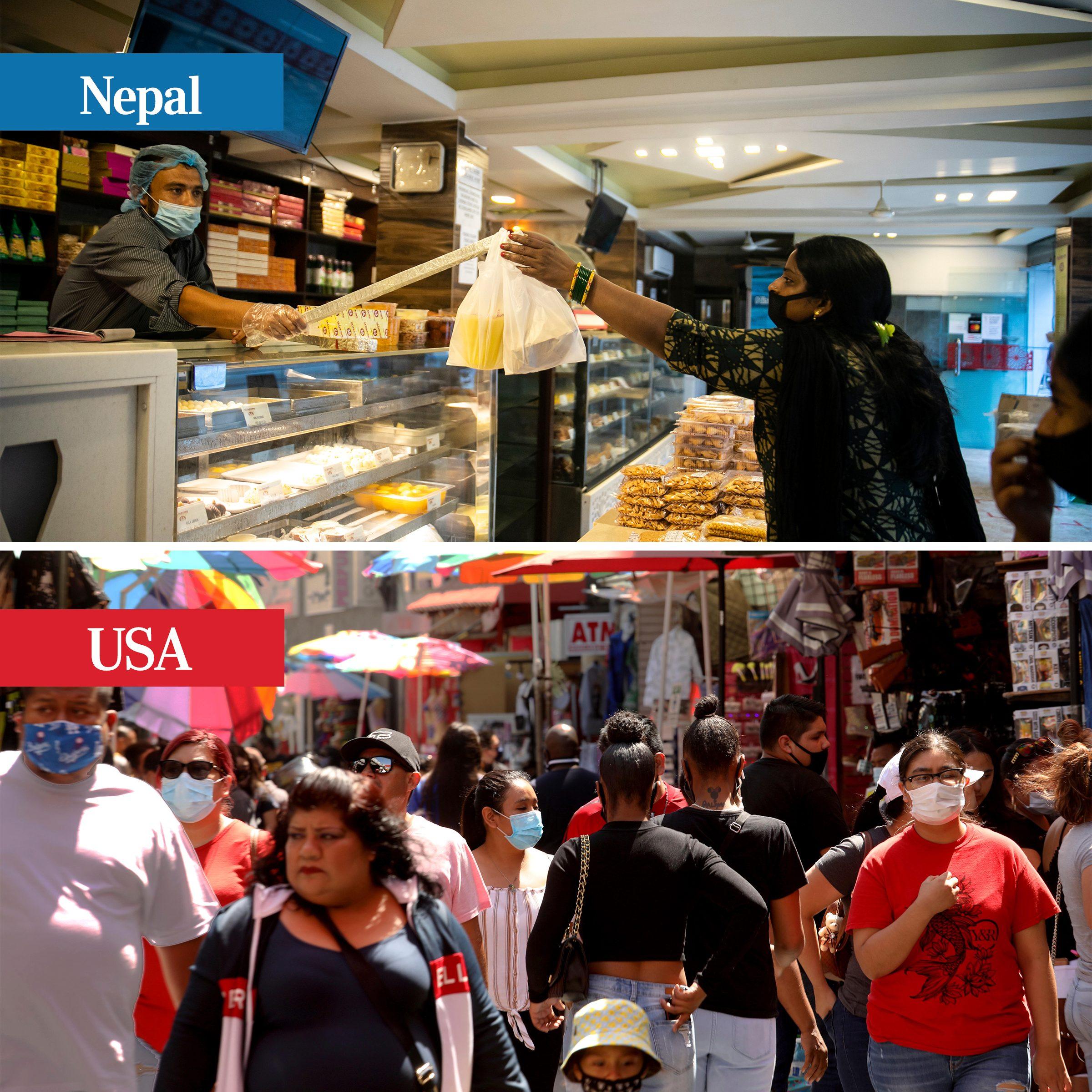 nepal shopping covid