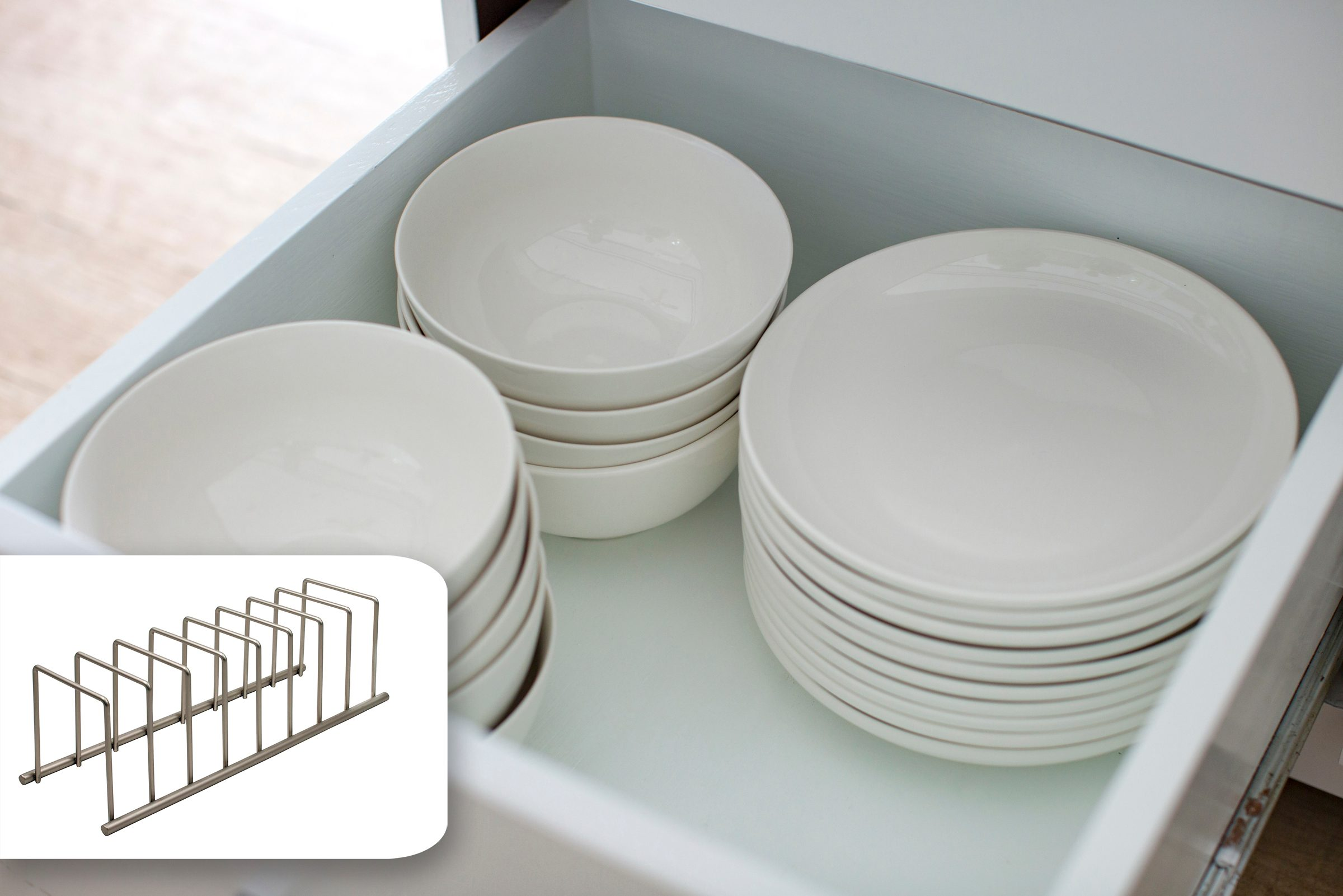 organization dish washer dishes drawer storage amazon