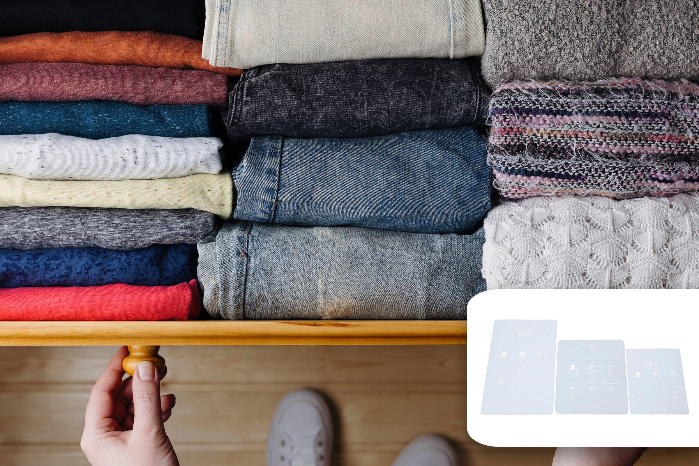 organization folding clothes amaozn