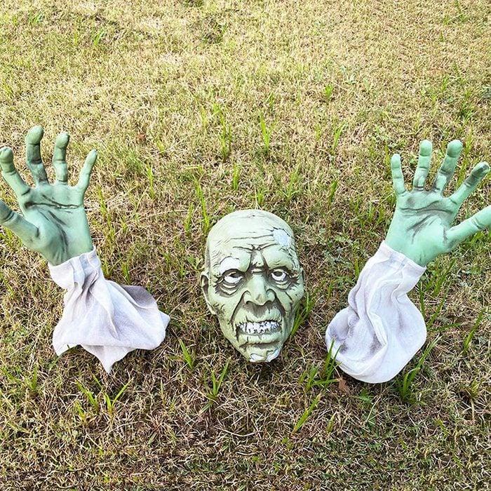 Outdoor Zombie Halloween Decoration