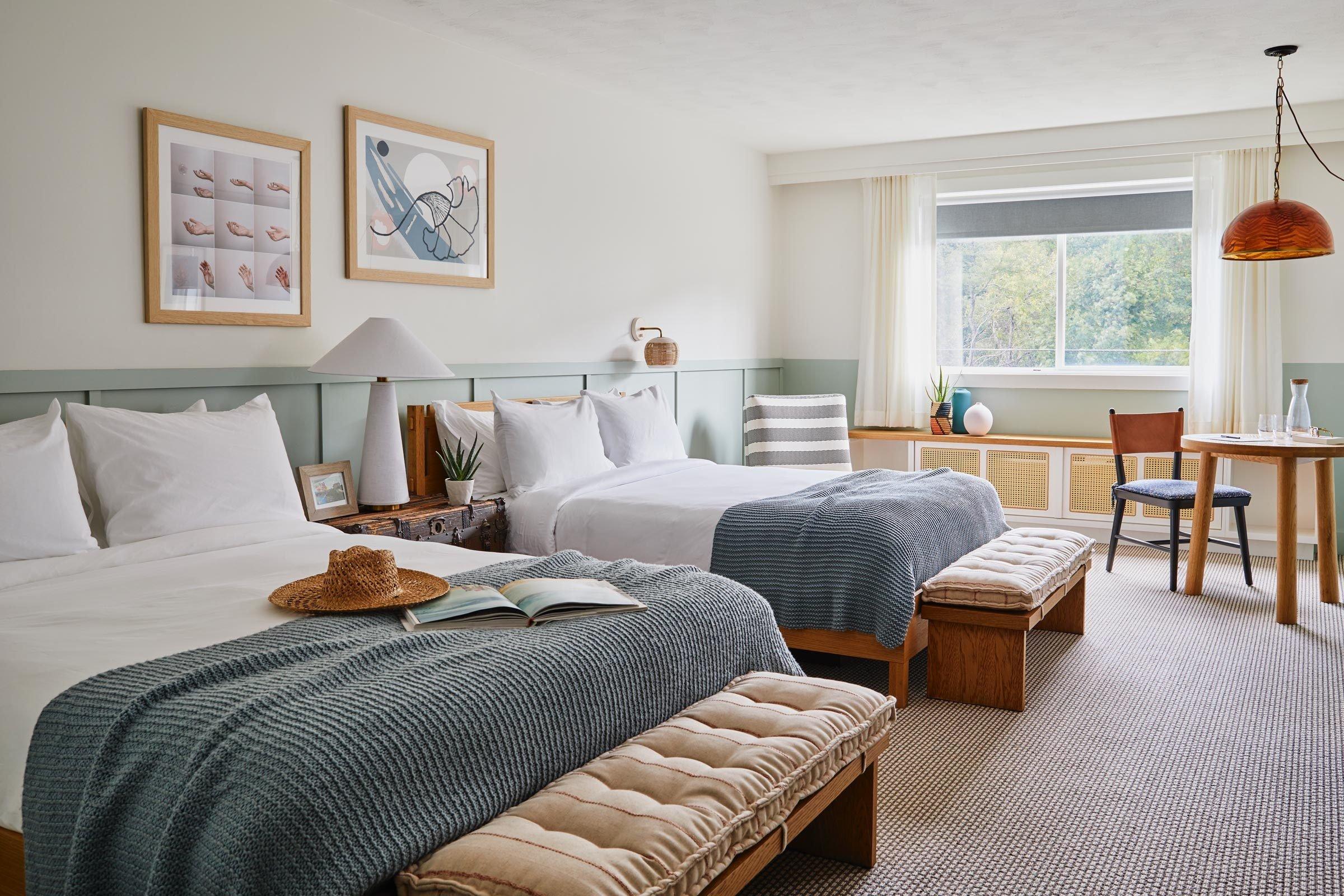 guestroom at the Wayfinder