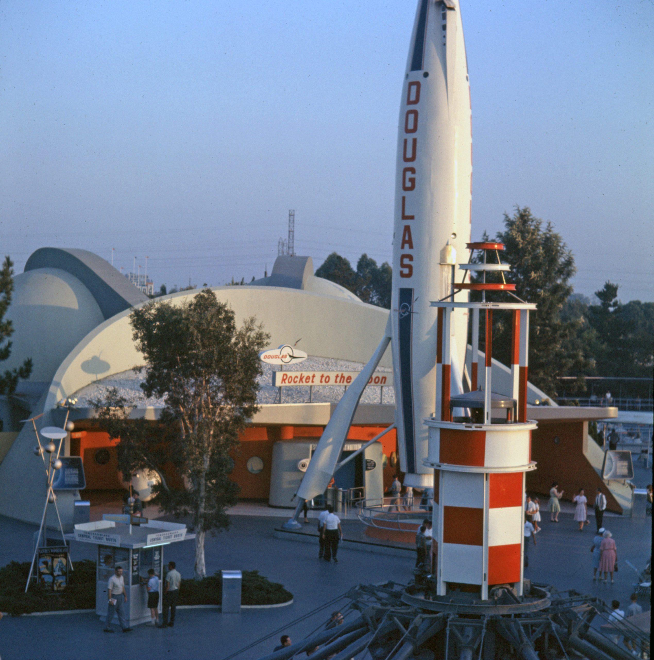 'Rocket To The Moon' At Disneyland