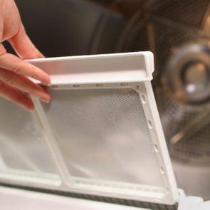 clean Clothes Dryer vent