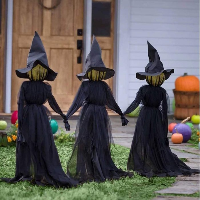 Welcoming Witches Halloween Decoration
