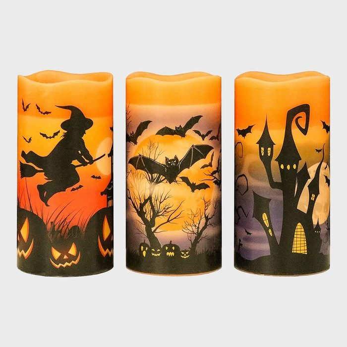 Witch Candles Halloween Decoration