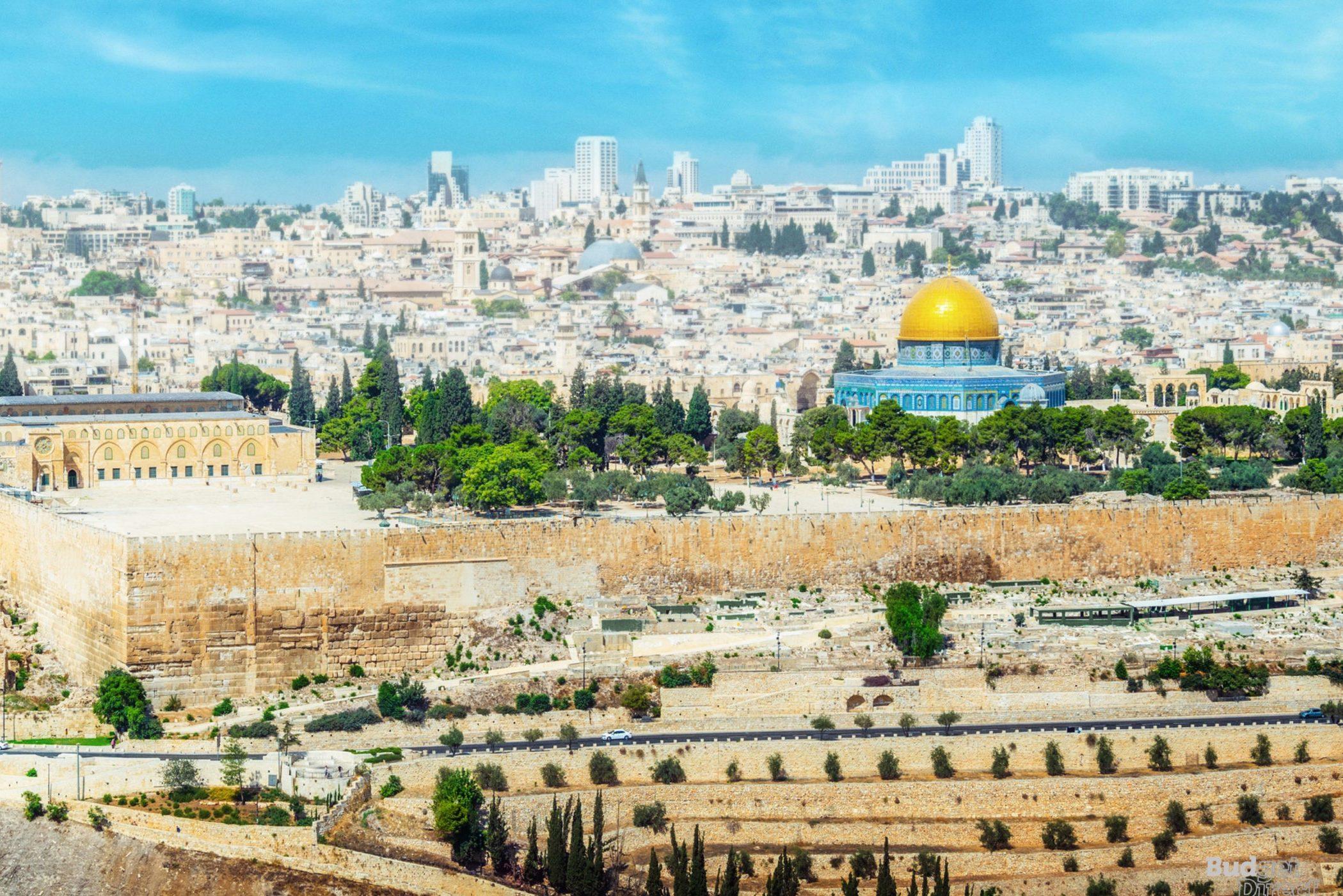 Jerusalem land mark