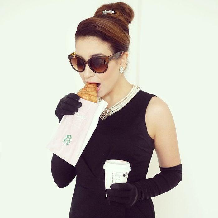 Audrey Hepburn diy costume