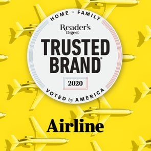 Reader's Digest Trusted Brand: Airline