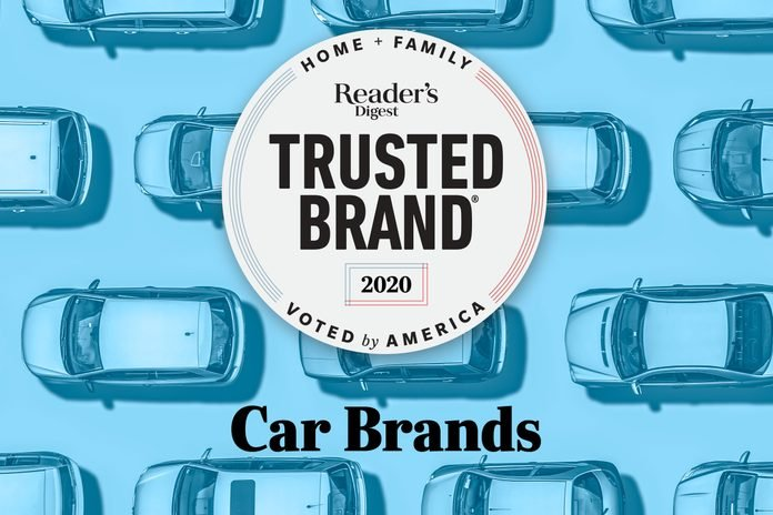 Reader's Digest Trusted Brands: Cars
