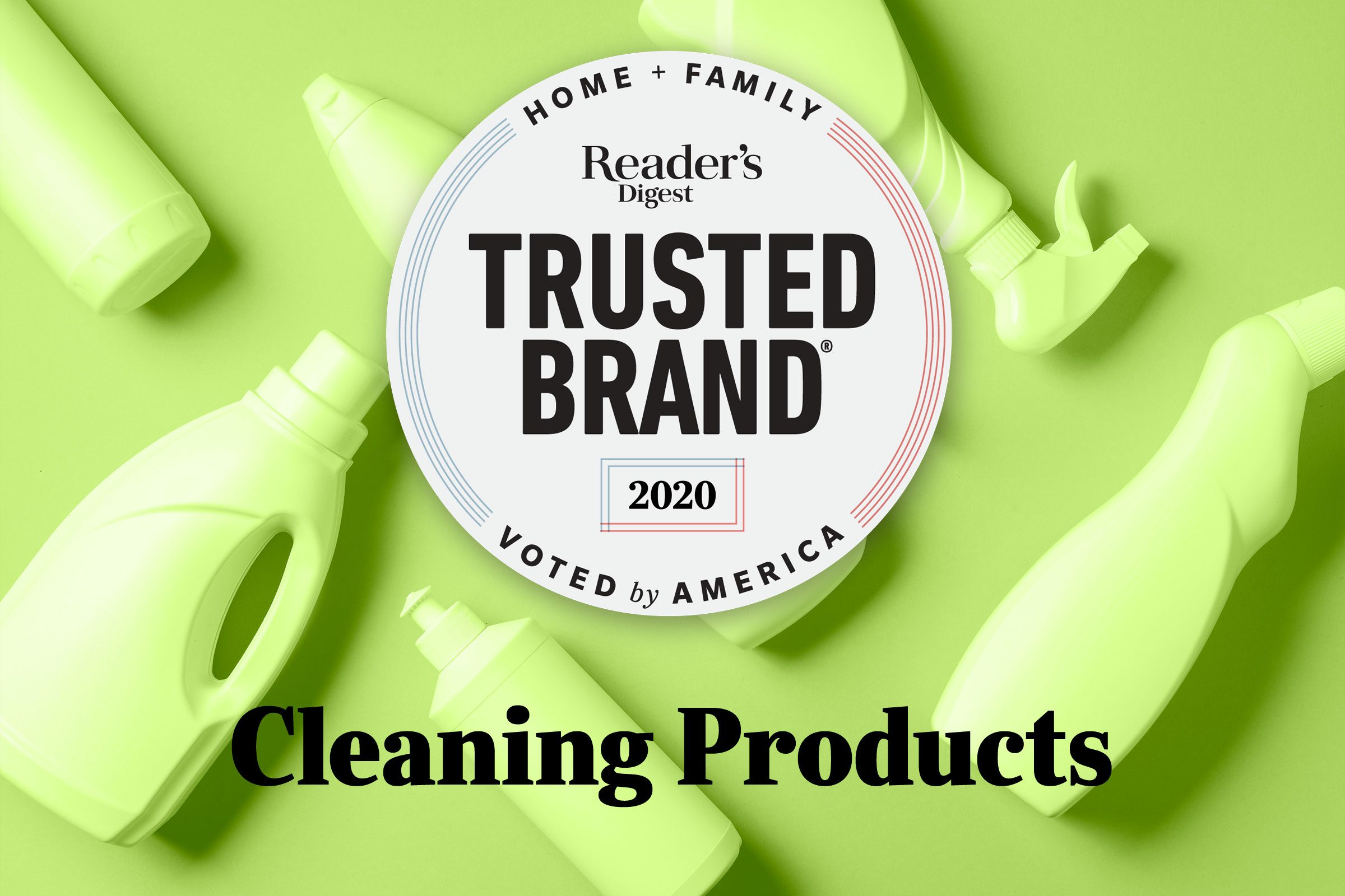 Reader's Digest Trusted Brands: Cleaning Products