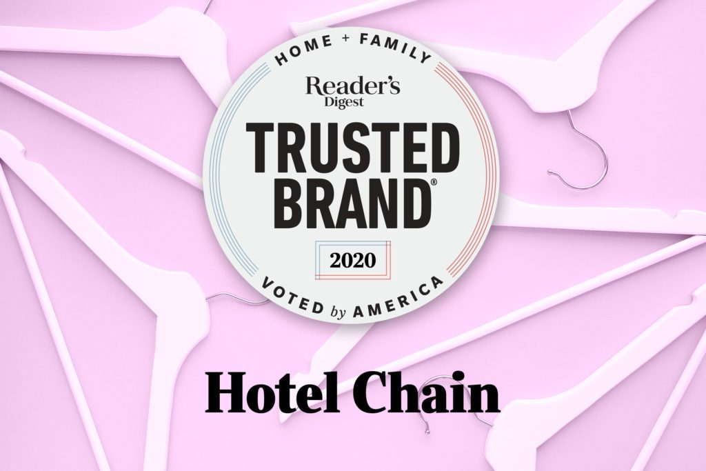 Reader's Digest Trusted Brand: Hotel Chain