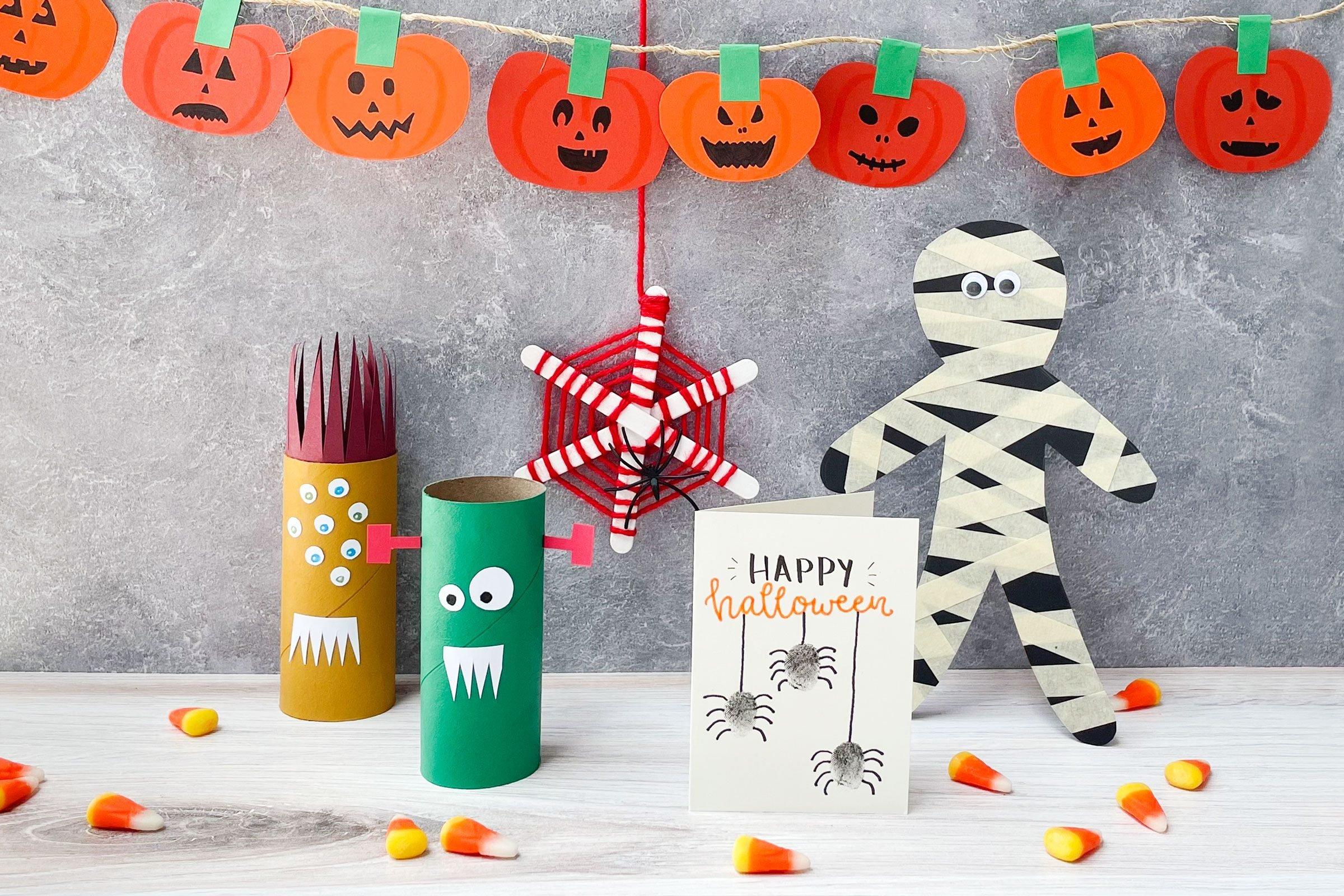 20 Halloween Crafts for Kids 20 — Halloween Activities for Kids