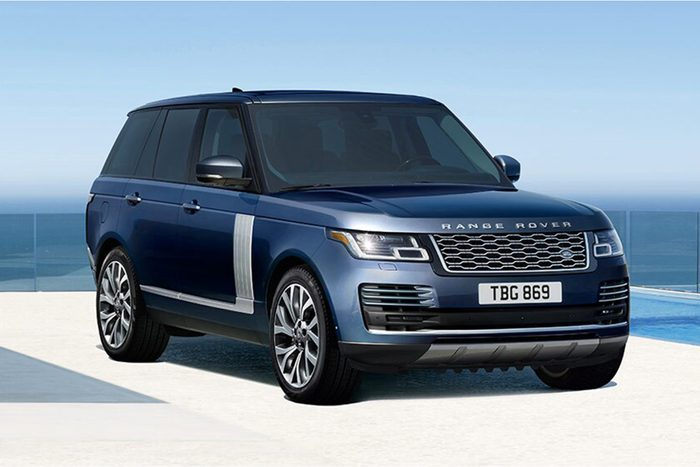 2022 Range Rover Westminster Edition