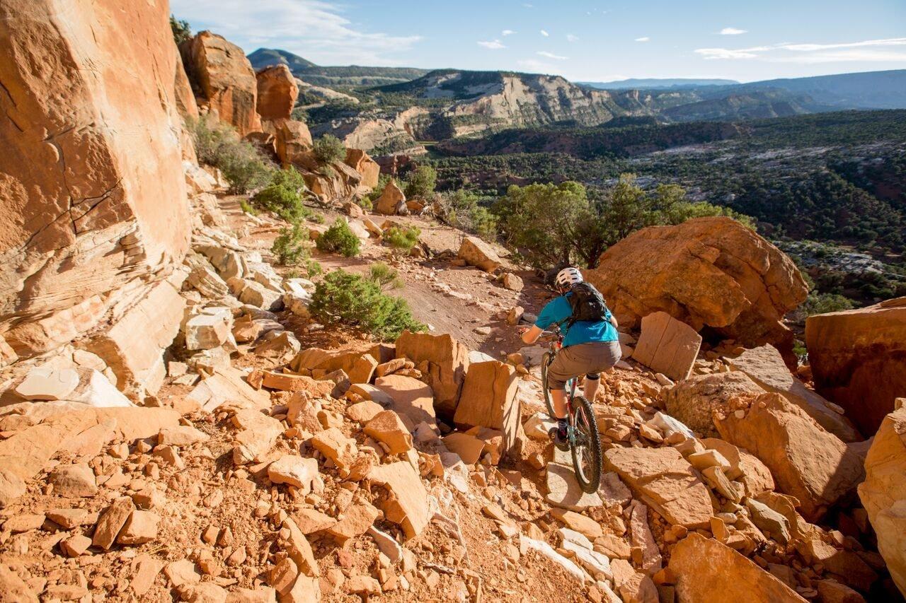 wyoming bike trail