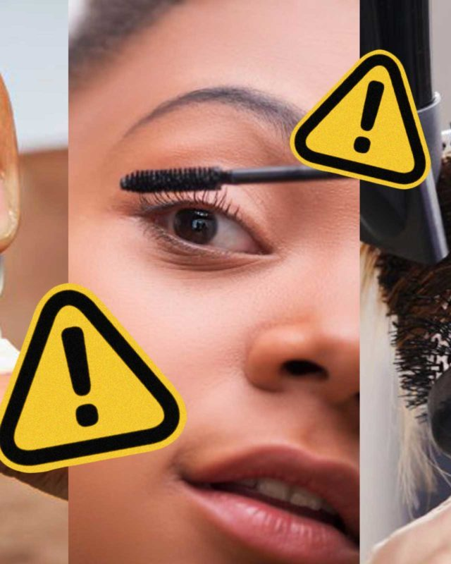 Things not to do with makeup