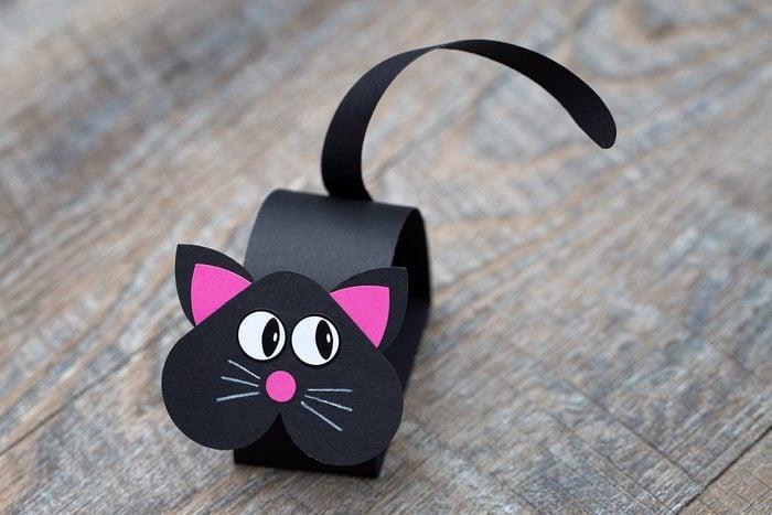 Bobble Head Black Cat Craft