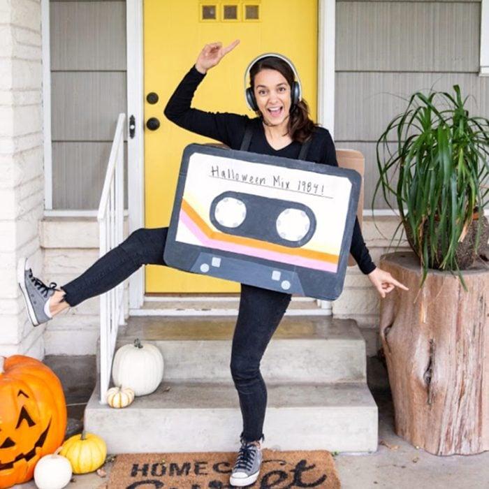 Cassette Tape Halloween Costume