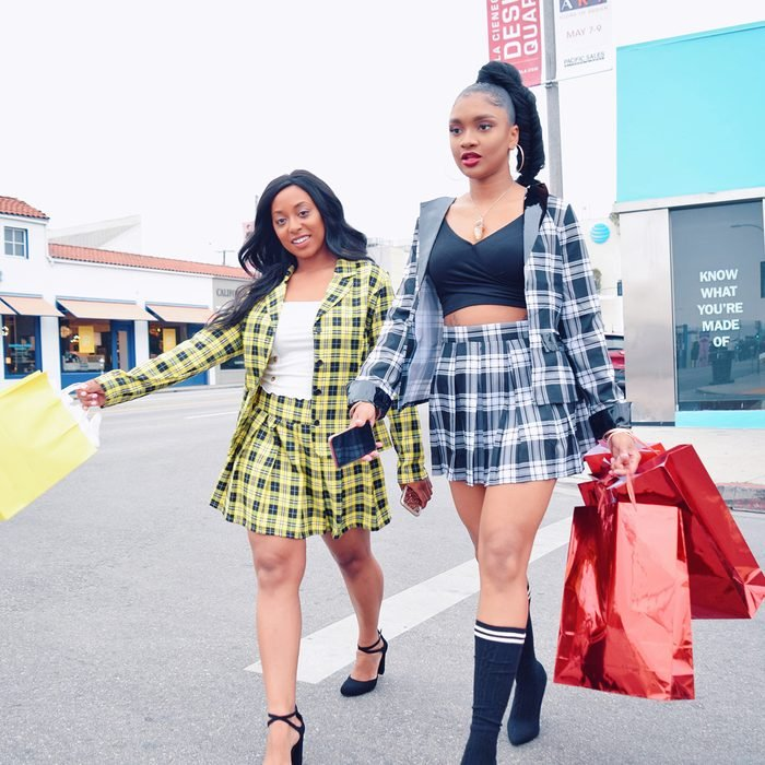 Cher And Dionne From Clueless Halloween Costume Claire Rodgers