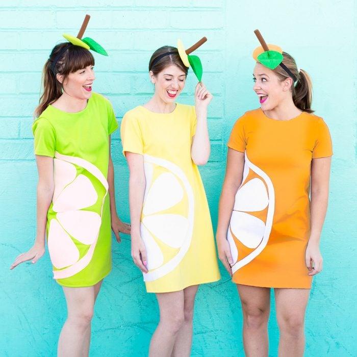Citrus Slice Halloween Costume