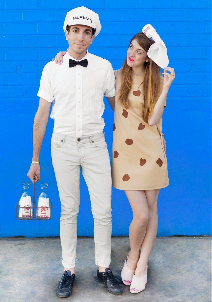 Milk and Cookies couples Halloween Costume