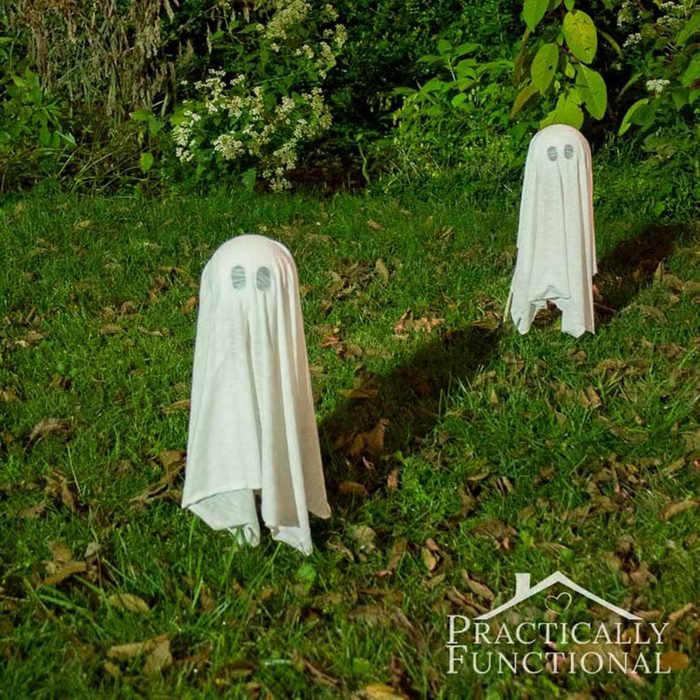 floating ghosts halloween decorations