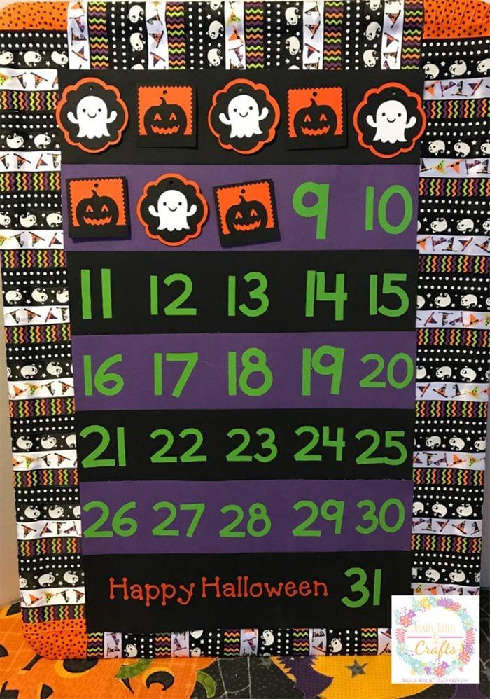 Diy Halloween Countdown Sign