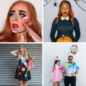 Diy Halloween Costumes Collage