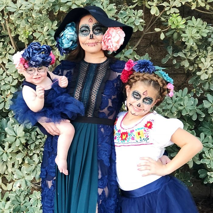 Day Of The Dead Family Halloween Costume Brittneyroybal