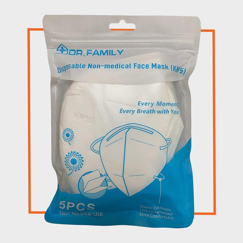 Dr. Family KN95 Disposable Non-Medical Face Mask