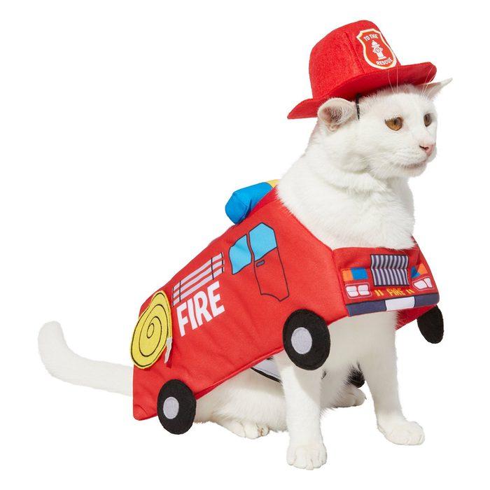 Firetruck Cat Costume