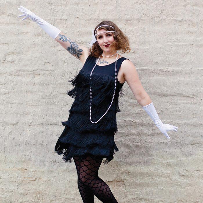 Flapper Halloween Costume Abeautifulmess