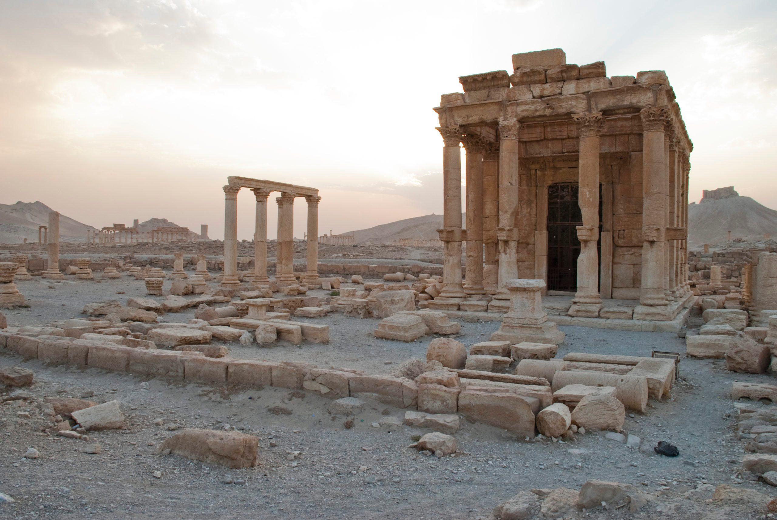 Temple of Bel-Shamin, Palmyra, Syria.