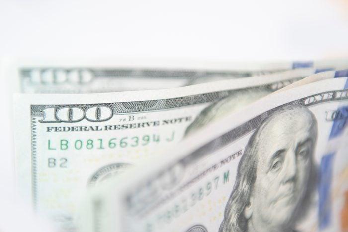 Money financial background.