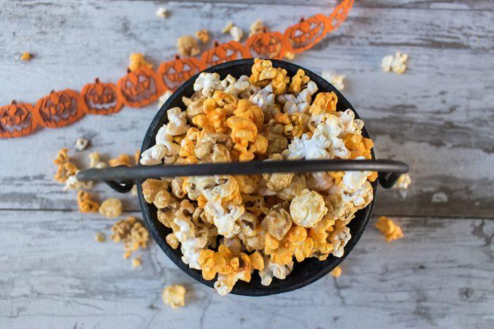 Halloween popcorn