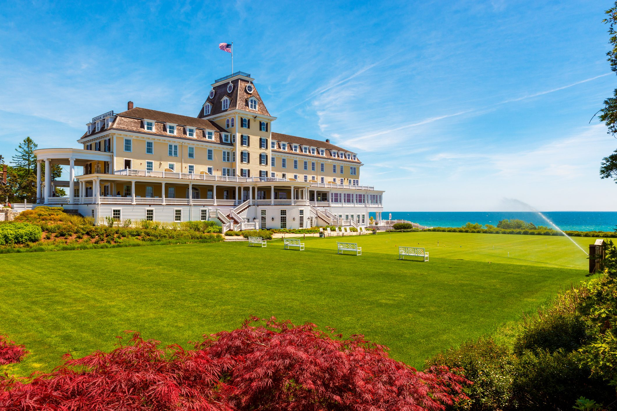 The Ocean House Hotel in Westerly Rhode Island USA