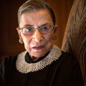 Supreme Court Justice Ruth Bader Ginsburg...