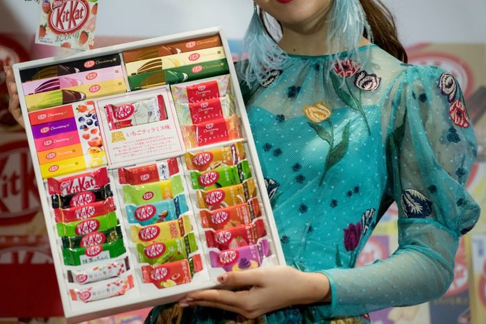 45th Anniversary Of Kit Kat Release In Japan